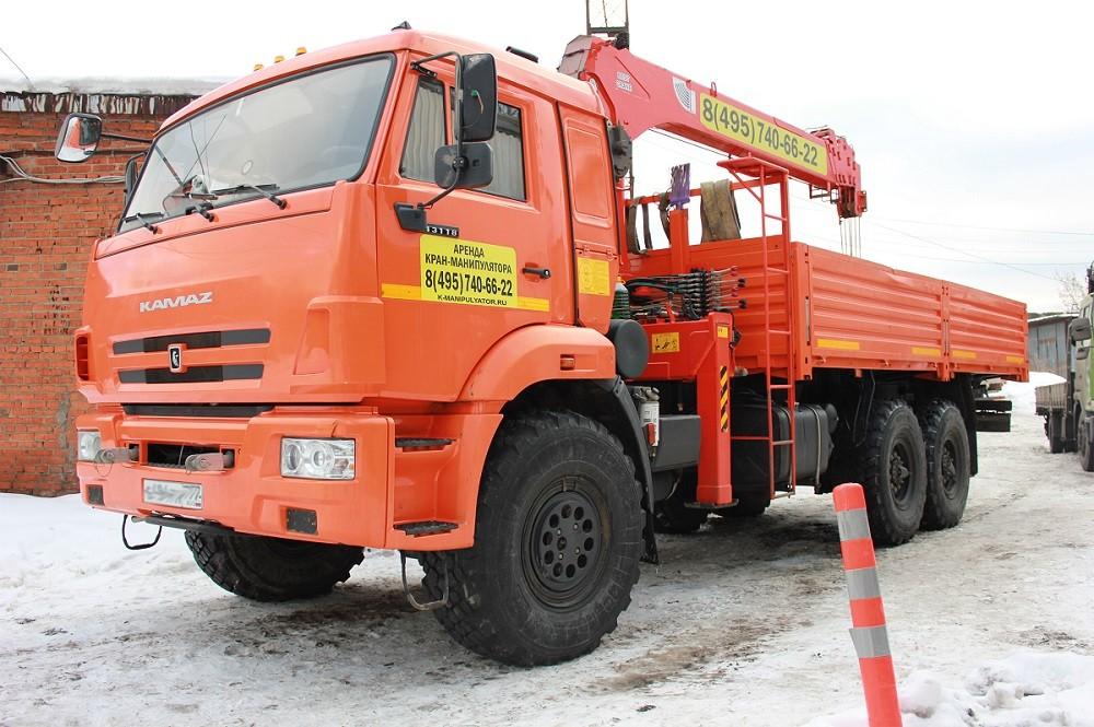 Манипулятор вездеход КамАЗ 43118