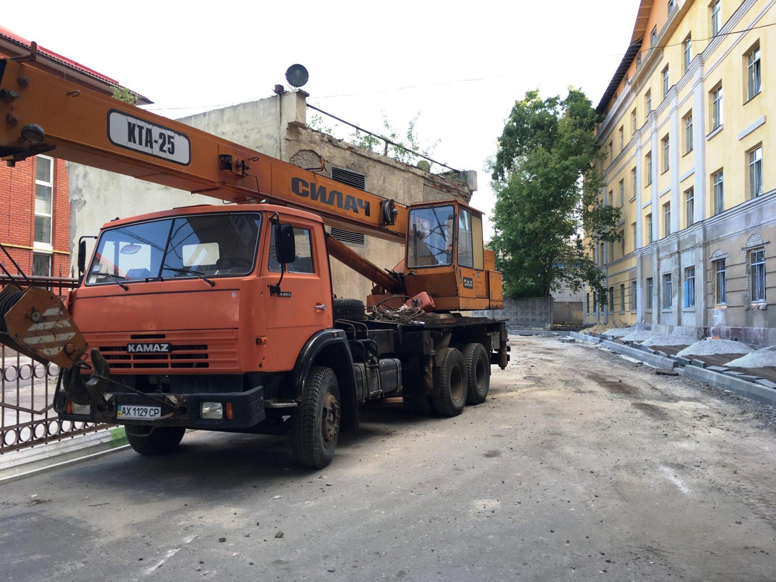 """Автокран КТА 25 """"Силач"""" на базе КамАЗ"""