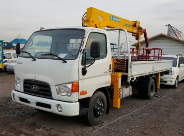 Кран манипулятор Hyundai HD 78 5 тонн
