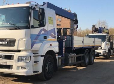 Кран манипулятор КАМАЗ 65207 10 тонн