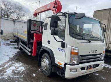 Кран манипулятор JAC 5 тонн